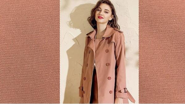 优质风衣面料|女性的追求时尚的关键!